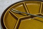 Piatto forchetta fondue